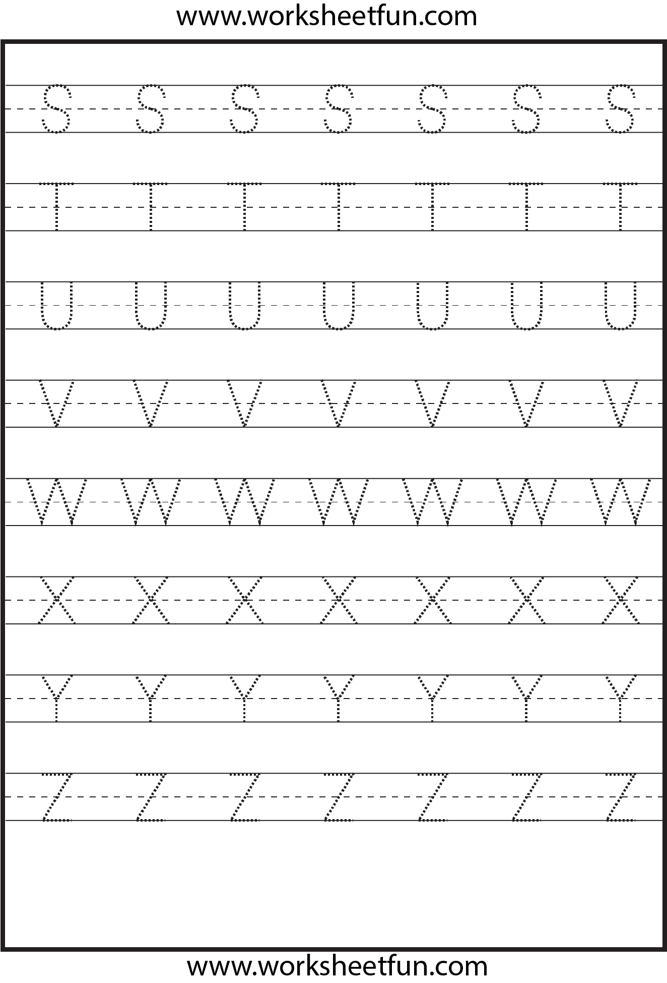 Letter Tracing