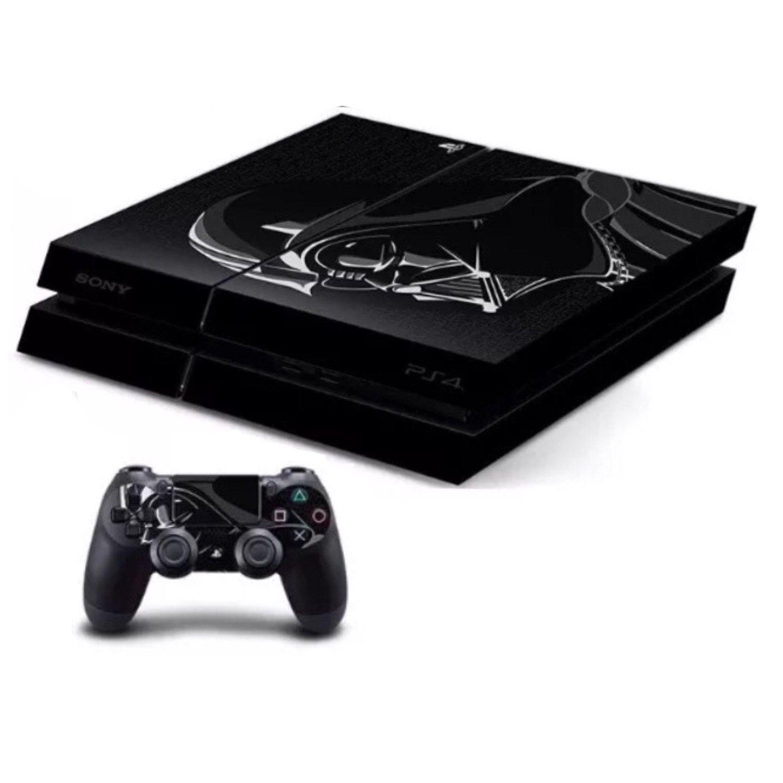 Darth Vader Premium Designer Limited Edition PS4 Skin  2 Free PS4 Controller Skins
