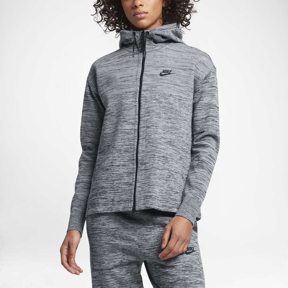 adbdbb609196 Nike Tech Knit Women s Jacket Size Medium (Grey) - Clearance Sale ...
