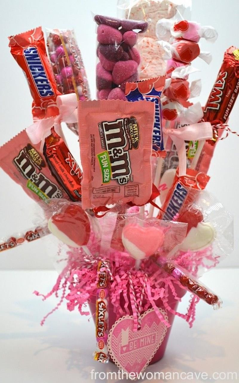 30 easy and beautiful valentine candy bouquet ideas | carft ideas