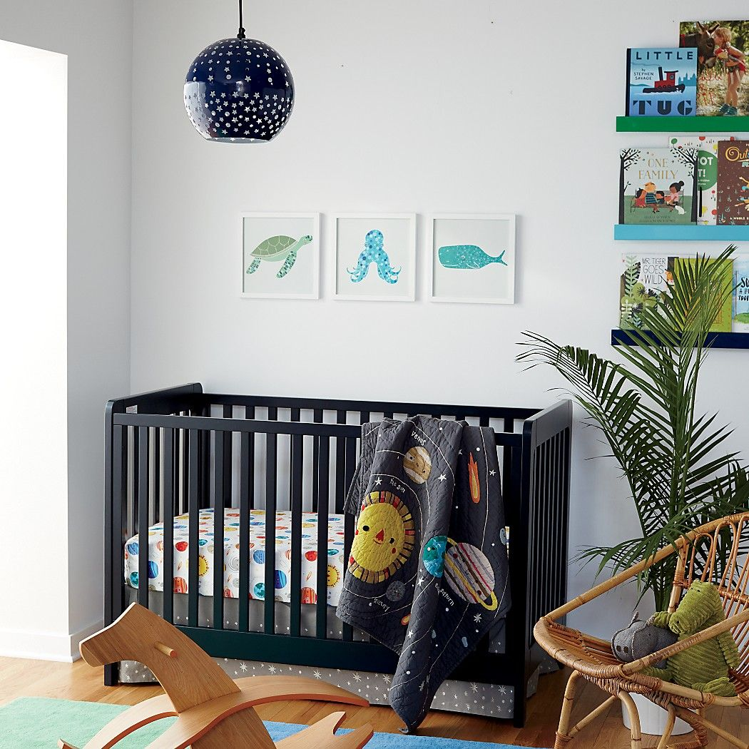 Shop Carousel Crib (Midnight Blue). With a sturdy, solid