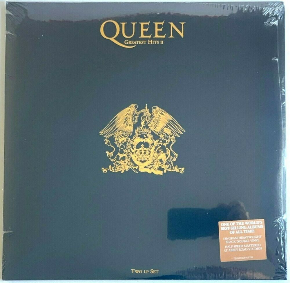 Queen Greatest Hits Ii Sealed Latest Pressing Lp Vinyl Record Album 2 Two In 2020 Vinyl Record Album Vinyl Records Lp Vinyl