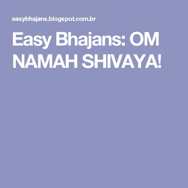 Easy Bhajans Om Namah Shivaya Music For Ukulele Pinterest