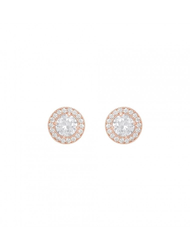 a66ec8cd6 Mila CZ Diamante Round Stud Earring Rose Gold - Womens Fashion | Forever New