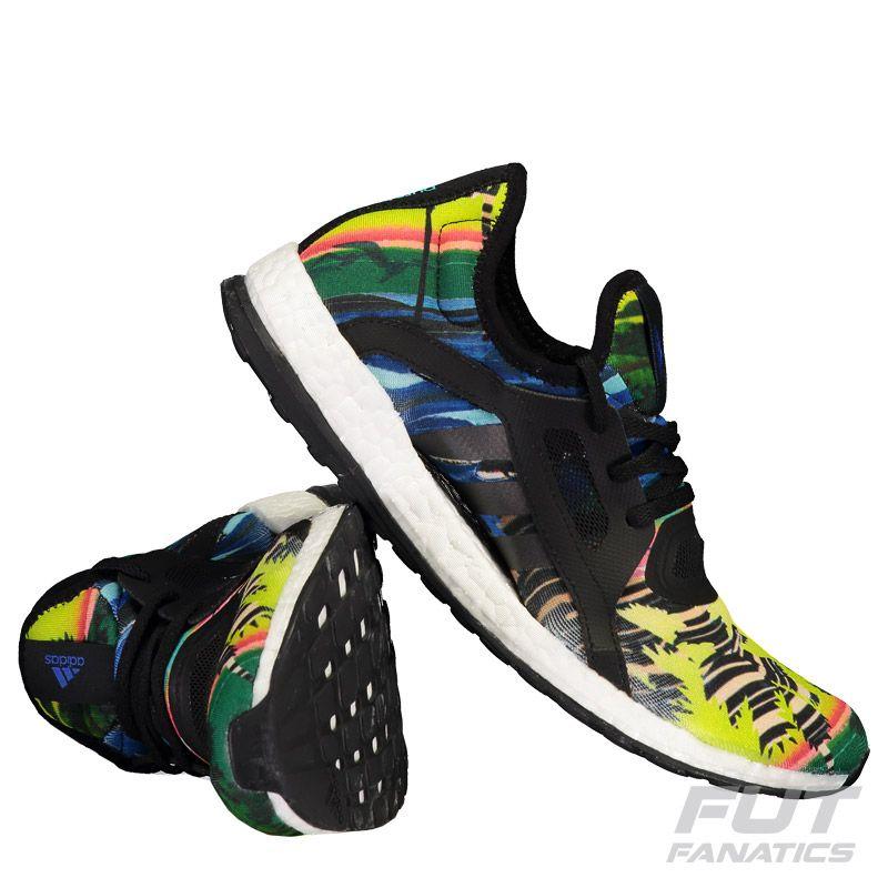 a25dd2d5d06 Tênis Adidas Pureboost X Feminino Amarelo Somente na FutFanatics você  compra agora Tênis Adidas Pureboost X