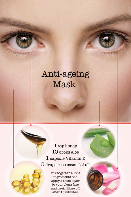 Homemade Anti Ageing Face Mask Anti Aging Face Face Mask Anti