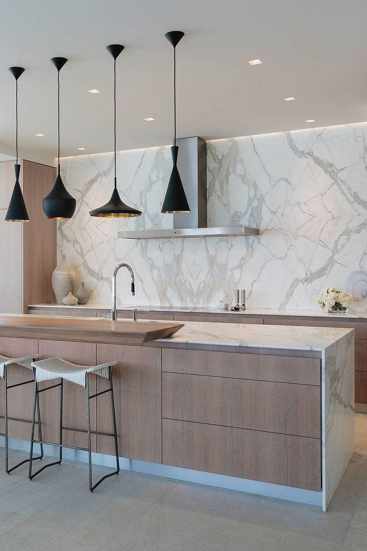 31+ ( Luxury ) Calacatta Gold Marble Backsplash & Countertop Ideas