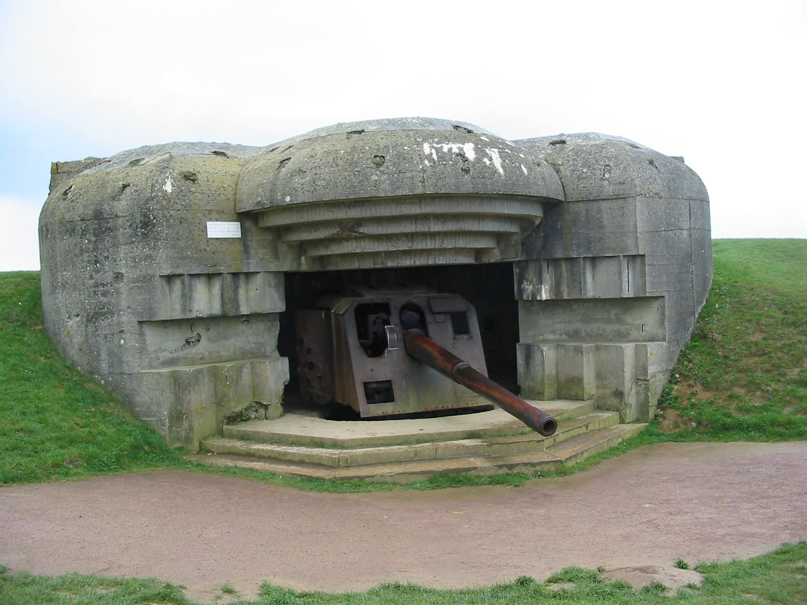 german battery of d-day