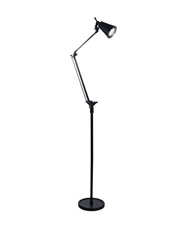 Lavish Home 6 Foot Led Adjustable Floor Lamp