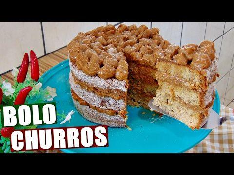 Saiba como fazer um bolo de churros (sim, isso existe