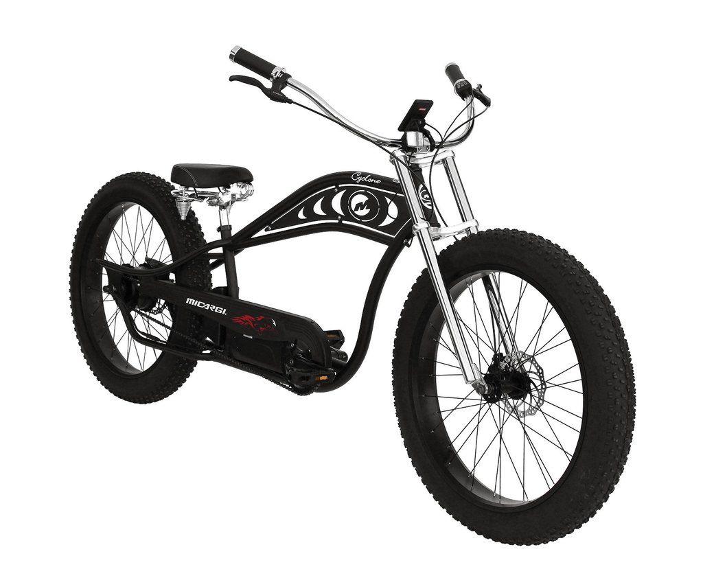 The Cyclone E Bike By Mbi Sport Micargi Custom Choppers
