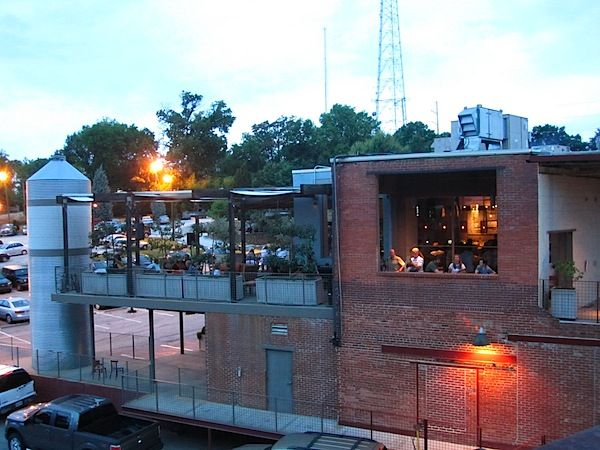 Deviled Eggs Drink Specials And Live Music On The Rooftop At Jct Kitchen Outdoor Spaces House Styles Rooftop Bar