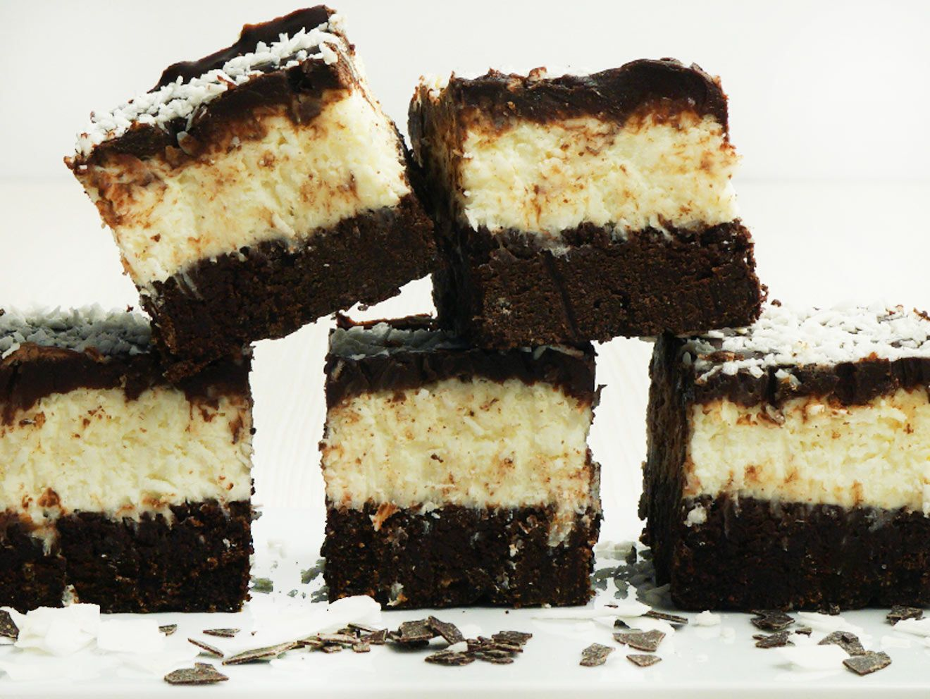 Photo of Juicy coconut brownies – that's how it works