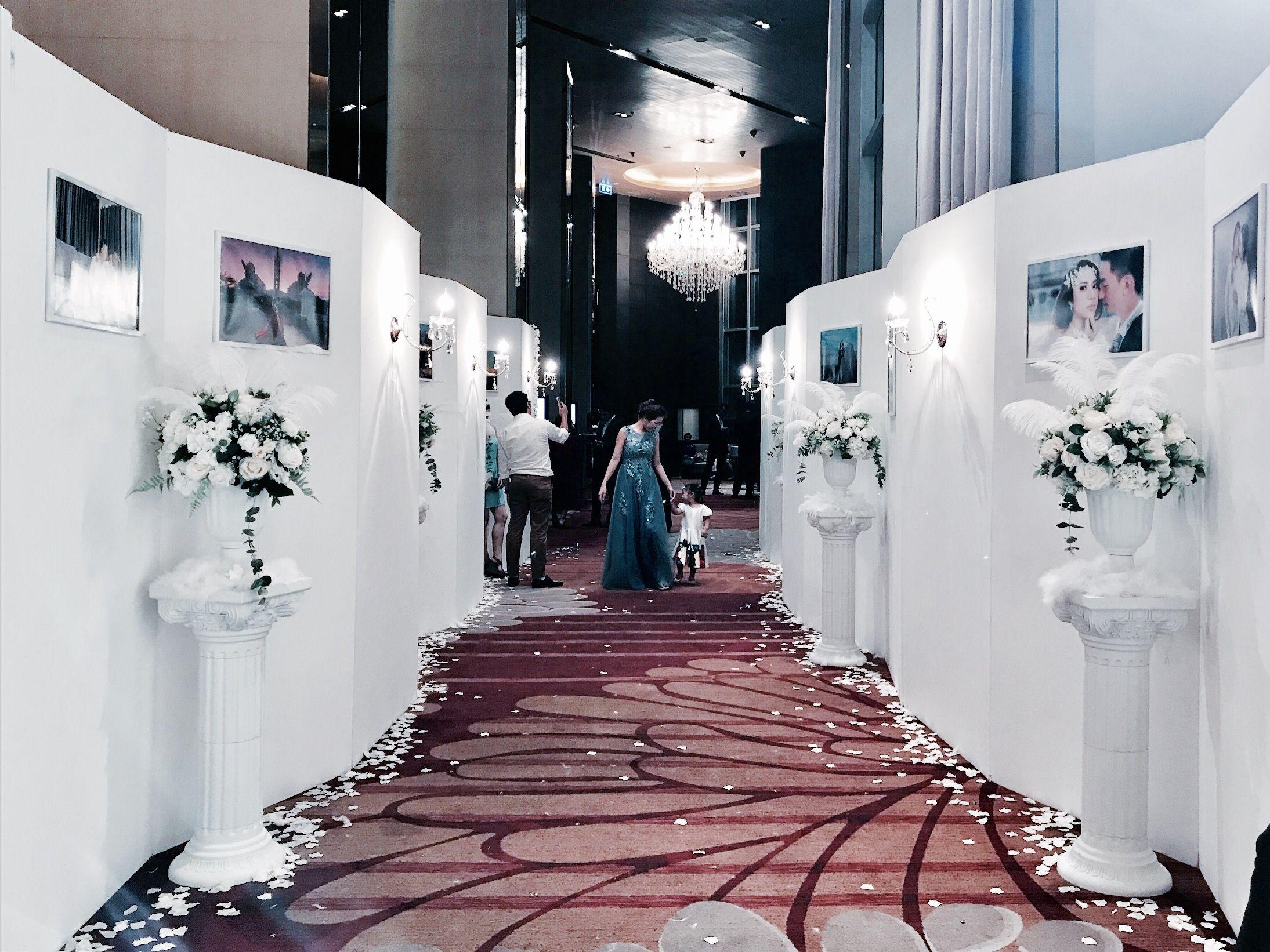 Wedding decorations stage backdrops october 2018 หนางาน idea  หนางาน in   Pinterest  Wedding Wedding