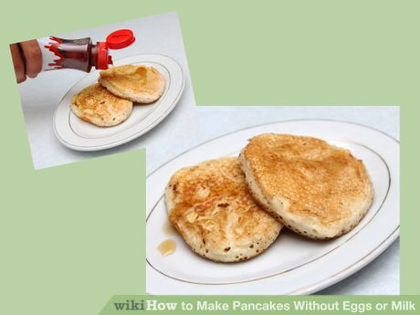 Make pancakes without eggs or milk pancakes egg and food how to make pancakes without eggs or milk ccuart Choice Image