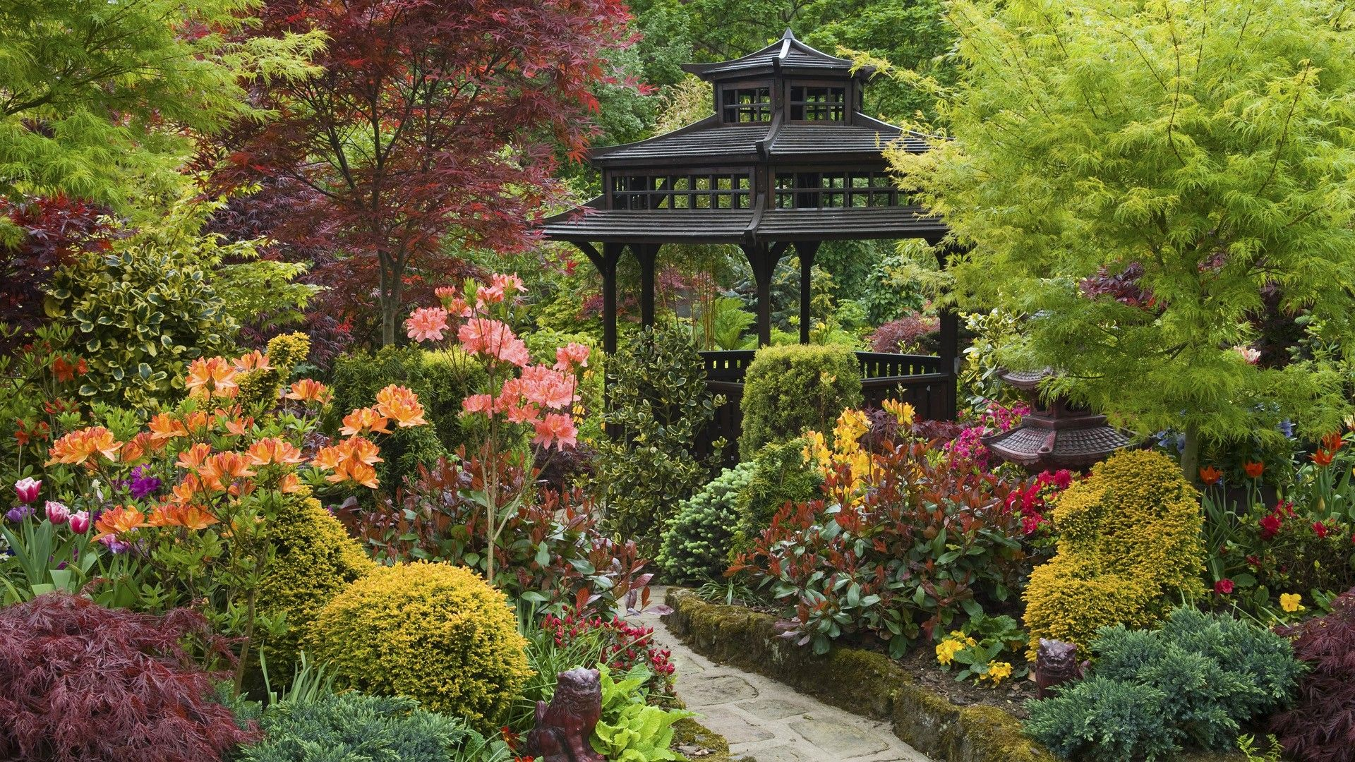 Lovely Zen Garden Wallpaper Favorite Places Spaces - Japanese gardens in england