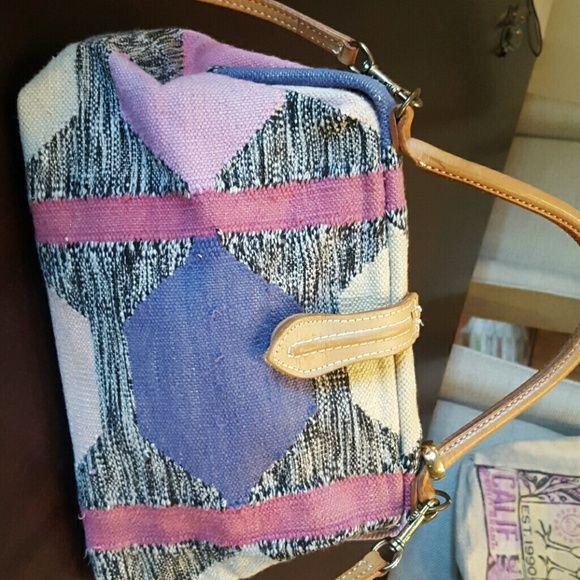 selezione premium prezzo accessibile nuovi prezzi più bassi T. CAPPELLI VINTAGE Bag Woven cotton patchwork mini carpet bag w ...