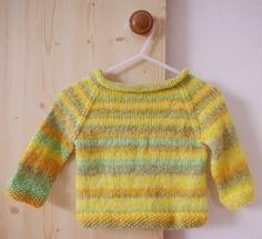 stricken raglan pullover