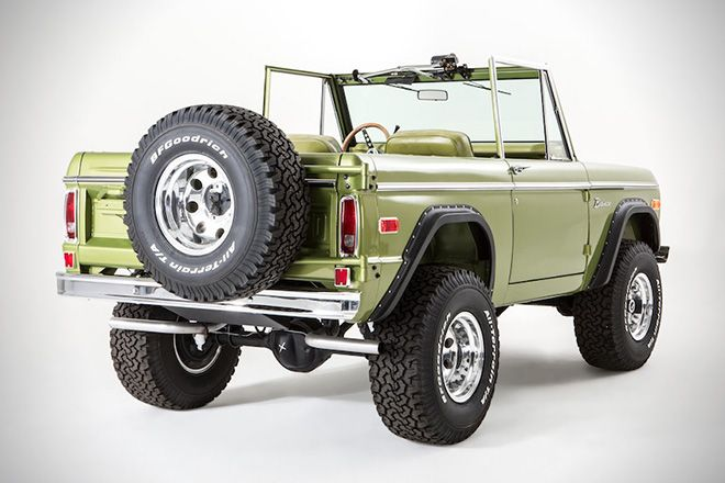 This 1973 Ford Bronco Is The Vintage 4x4 Of Your Dreams Ford Bronco Classic Chevy Trucks Pickup Trucks