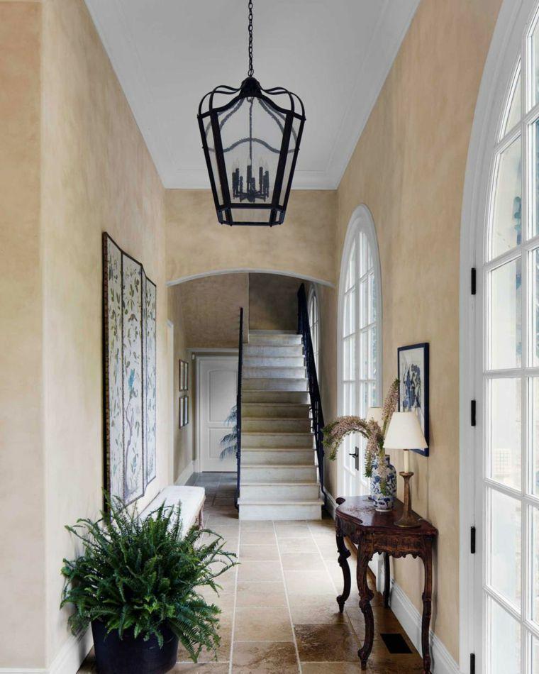 Idée déco entrée maison  50 propositions intéressantes Provence