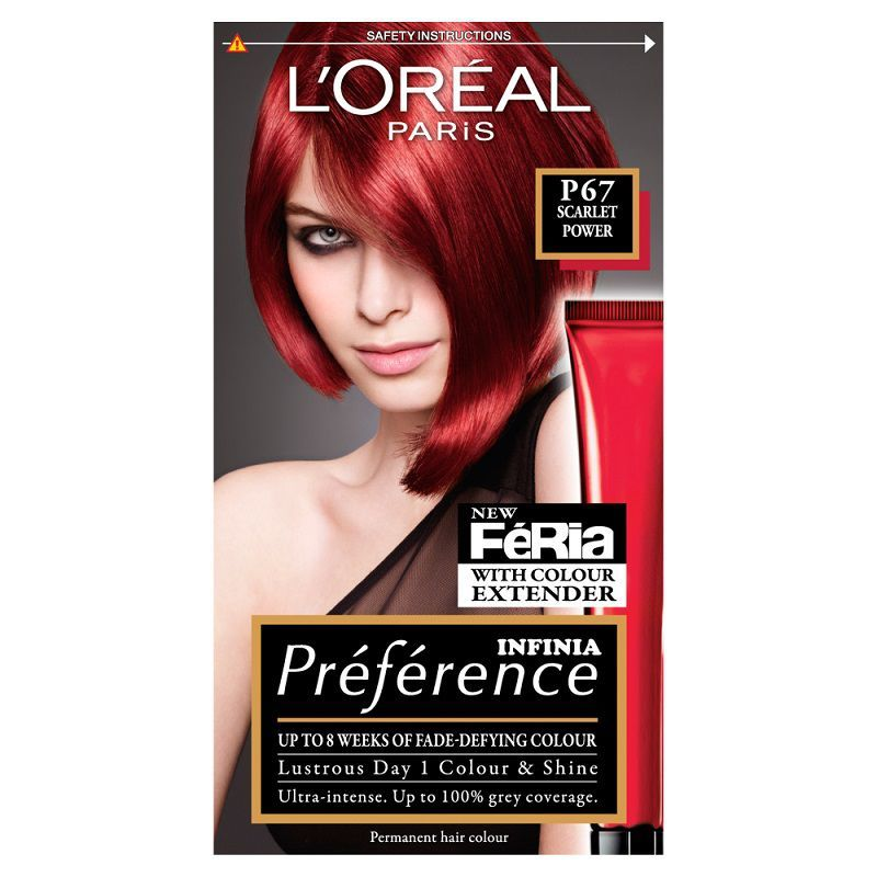 Loreal Paris Preference Intense Red 666 Buy Online In South