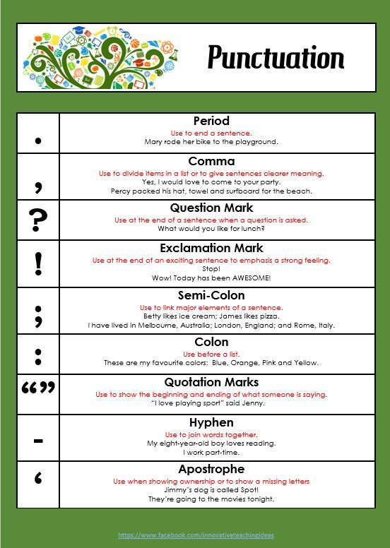 Free punctuation poster for your classroom  edgalaxy cool stuff nerdy teachers also calcary heritage rh pinterest
