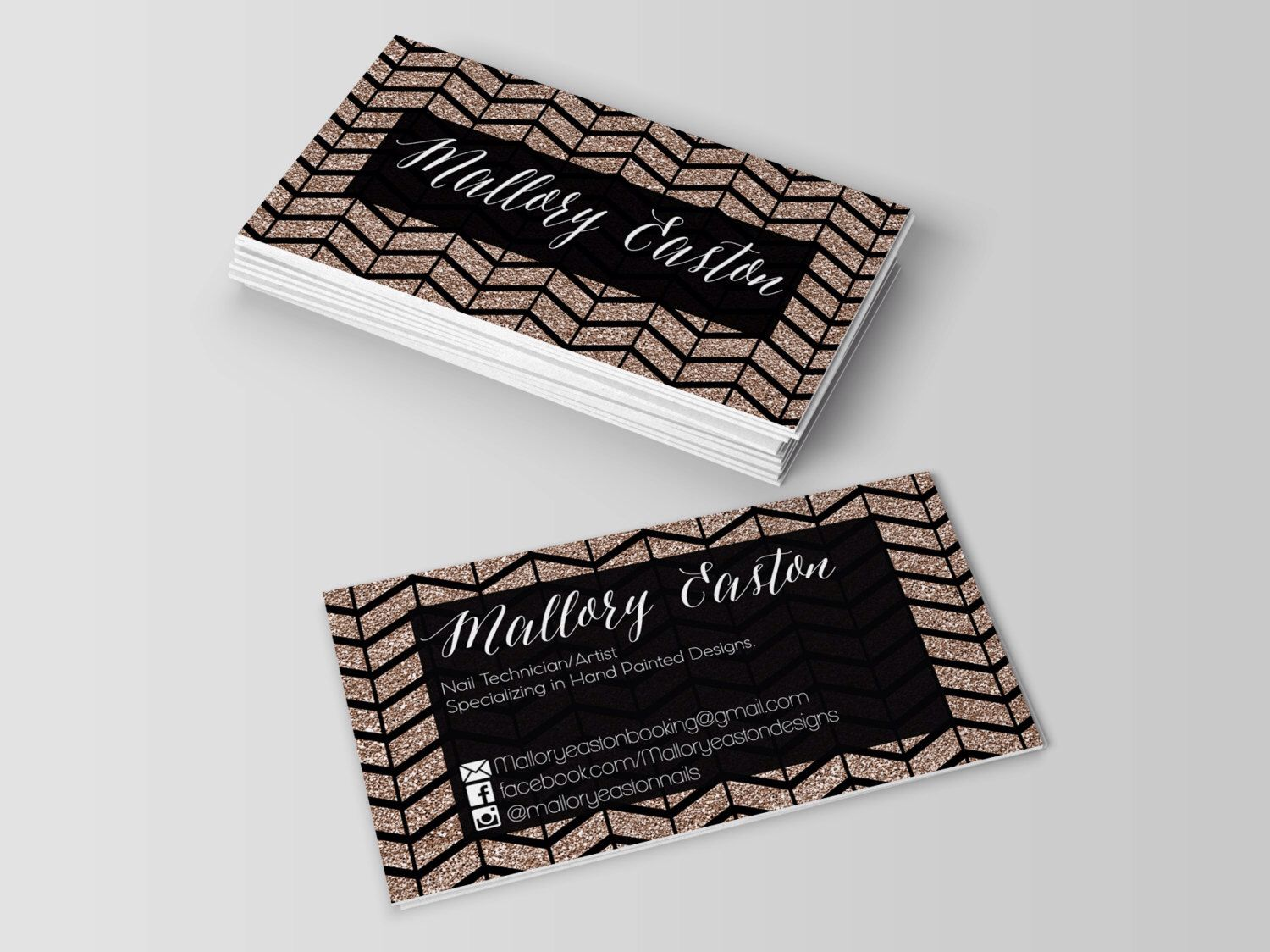Social Media Business Cards,Social media,Business card,Business ...