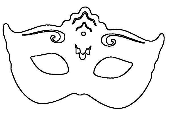 Patron masque patrons gabarits pinterest masque de carnaval carnaval et masque - Masque de carnaval a imprimer gratuit ...