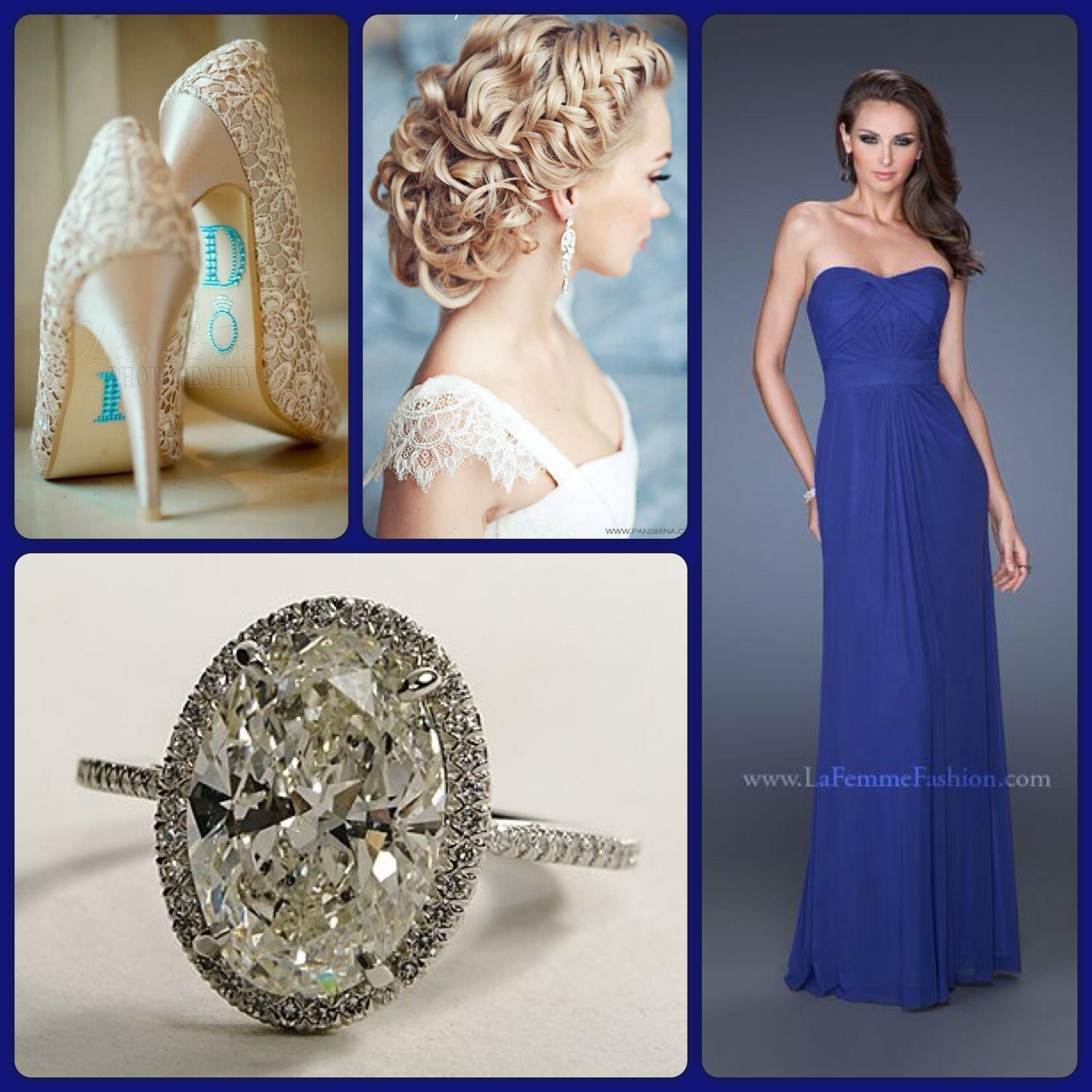 Indigo Mermaid Prom Dresses