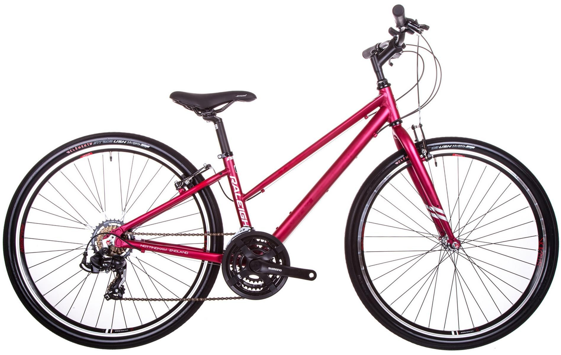 Raleigh Strada 1 Womens Hybrid Bike 14 17 19 21 Frames With