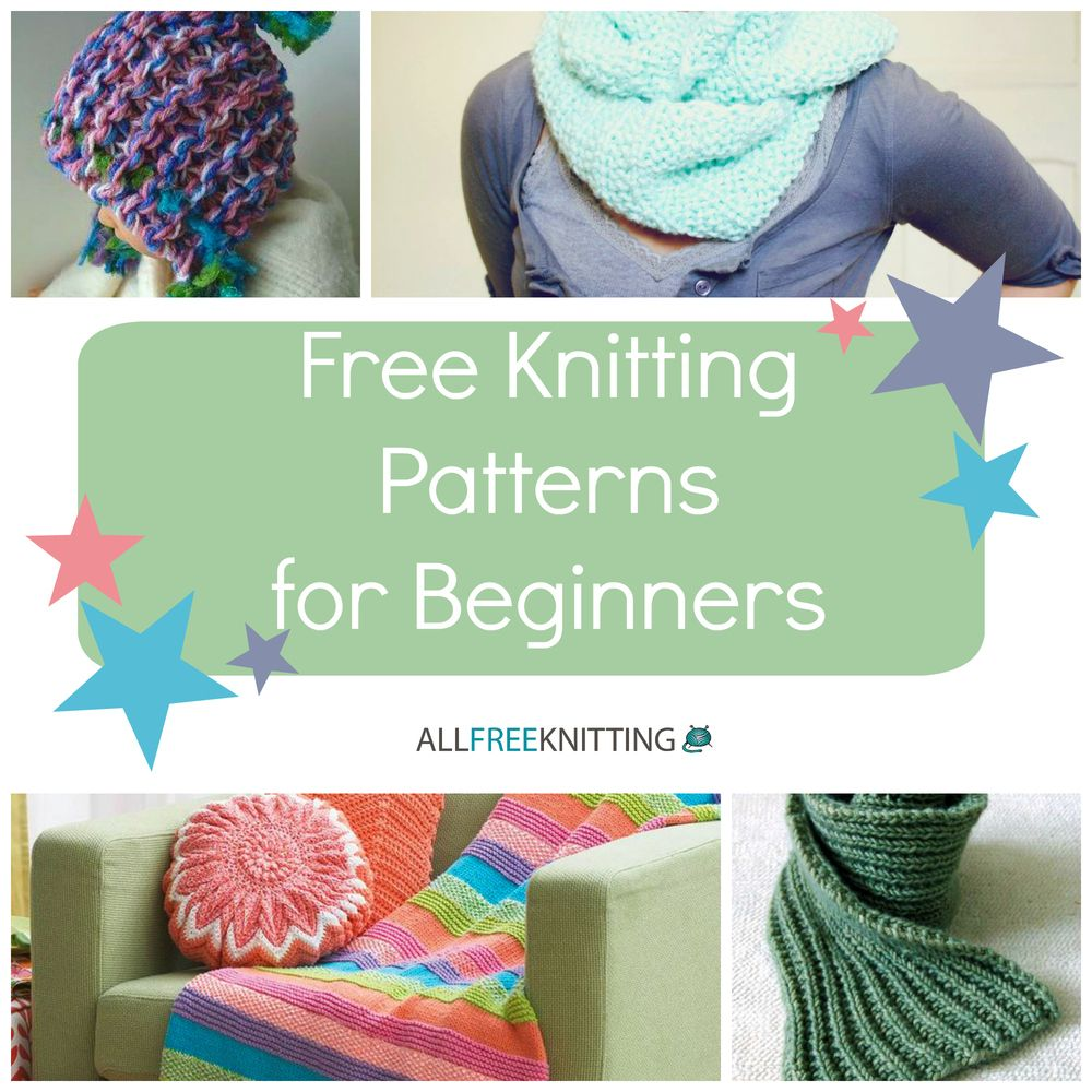 Knitting for beginners 54 easy knitting patterns knitting knitting for beginners guide 9 free knitting patterns for beginners allfreeknitting bankloansurffo Images