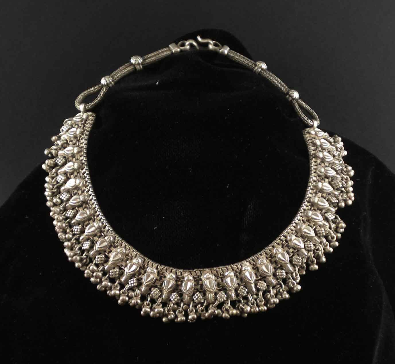 q vintage marcasite necklace original necklaces style silver