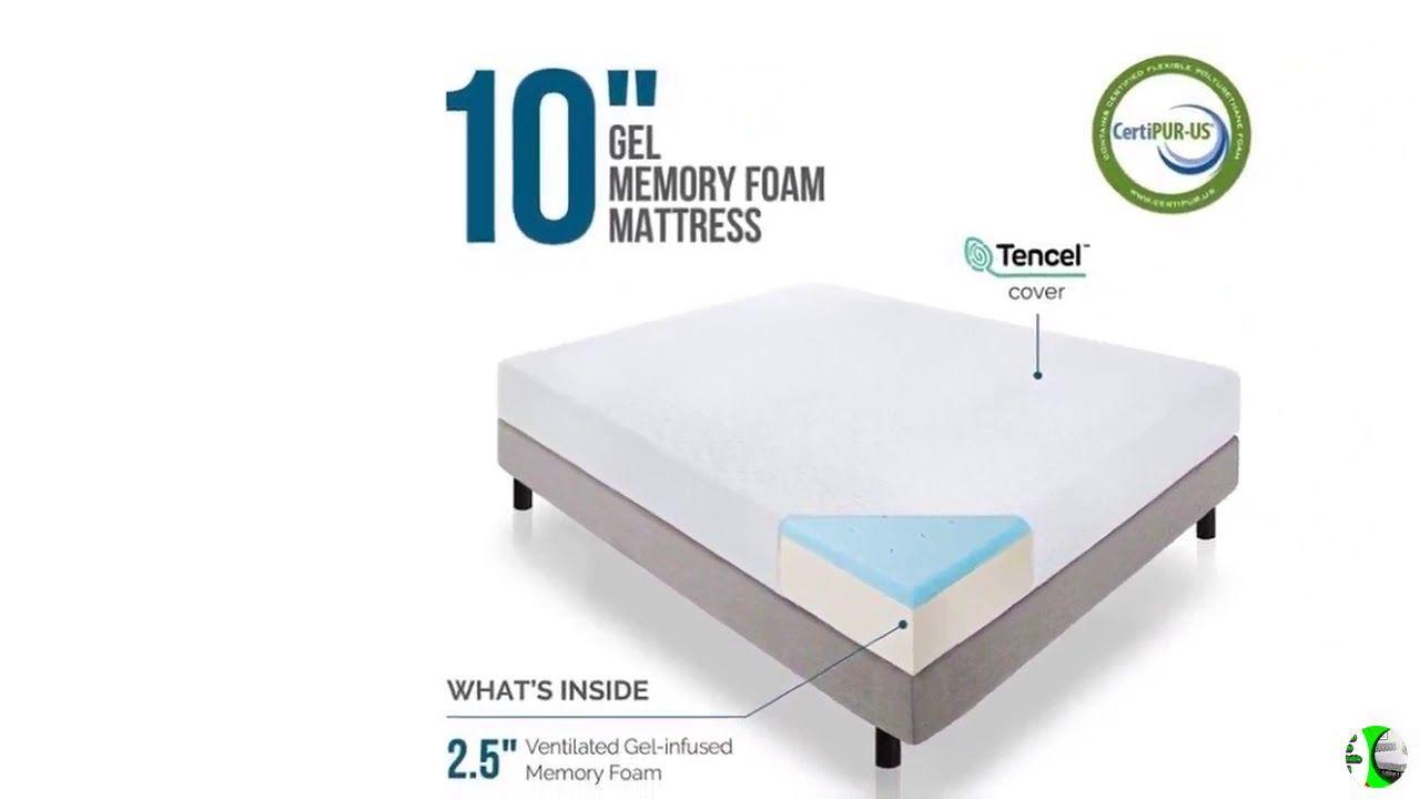 King Foam Mattress Lucid L100 Adjustable Bed Base Adjustable