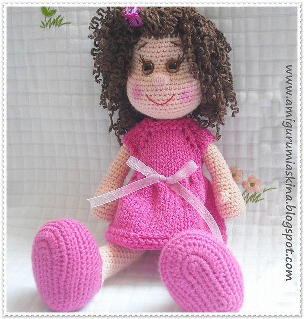 Ravelry: Free Spirit Amigurumi Doll pattern by Beth Ann Webber | 640x610