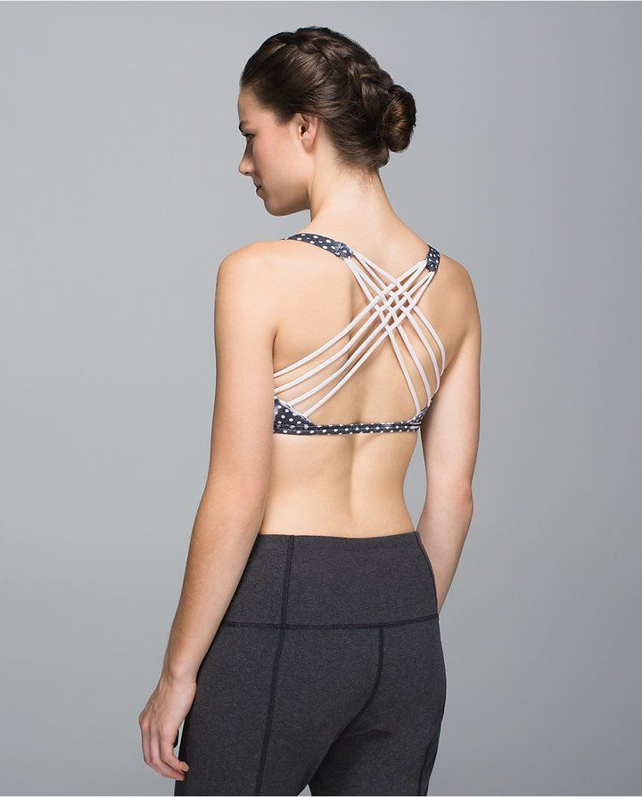 Free To Be *Wild light-support bra from @Lululemon #fitness