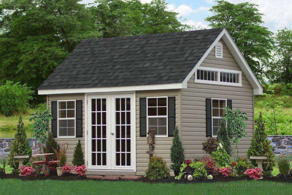 premier workshop shed pinterest white shutters doors and gardens