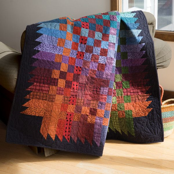 Strip effect batik