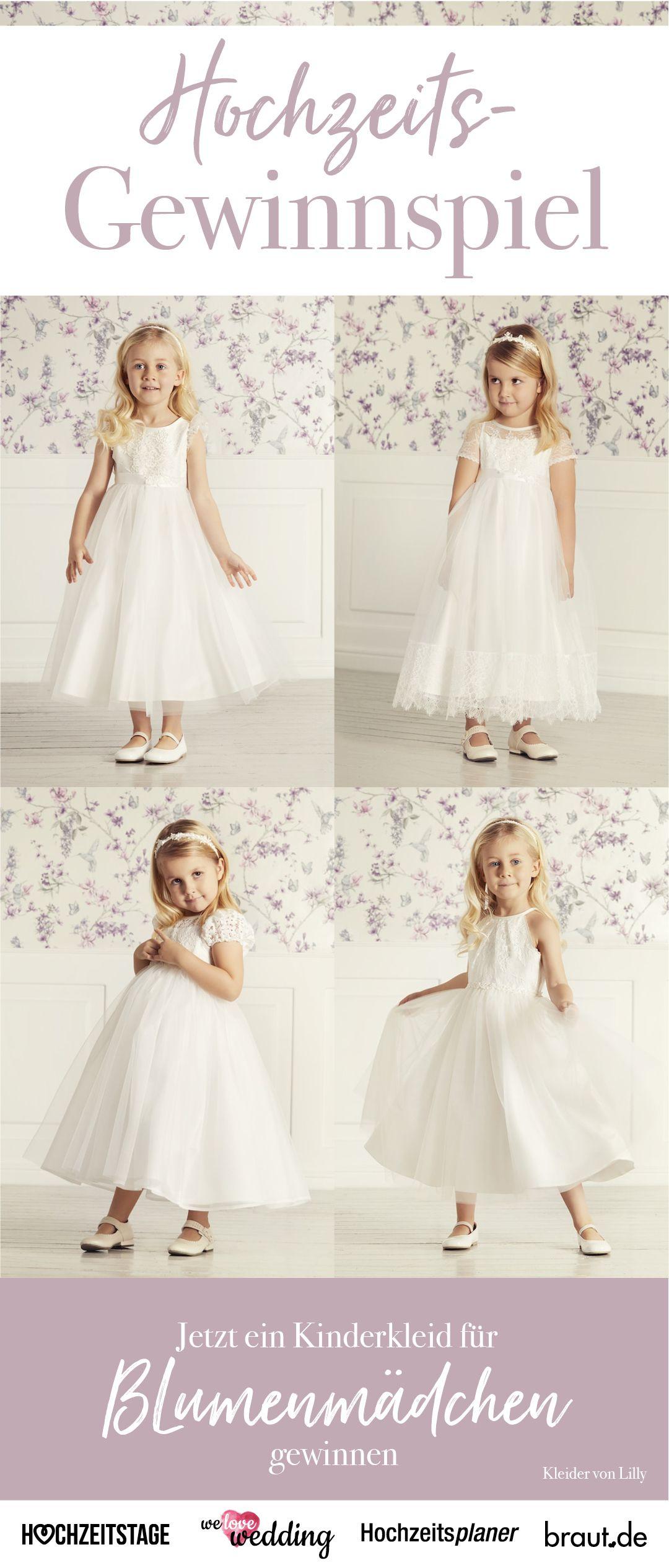 Jetzt gewinnen: Bezauberndes Kleid für Blumenkinder