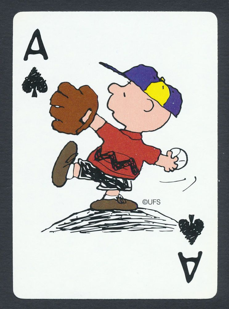 Image result for peanuts playing cards