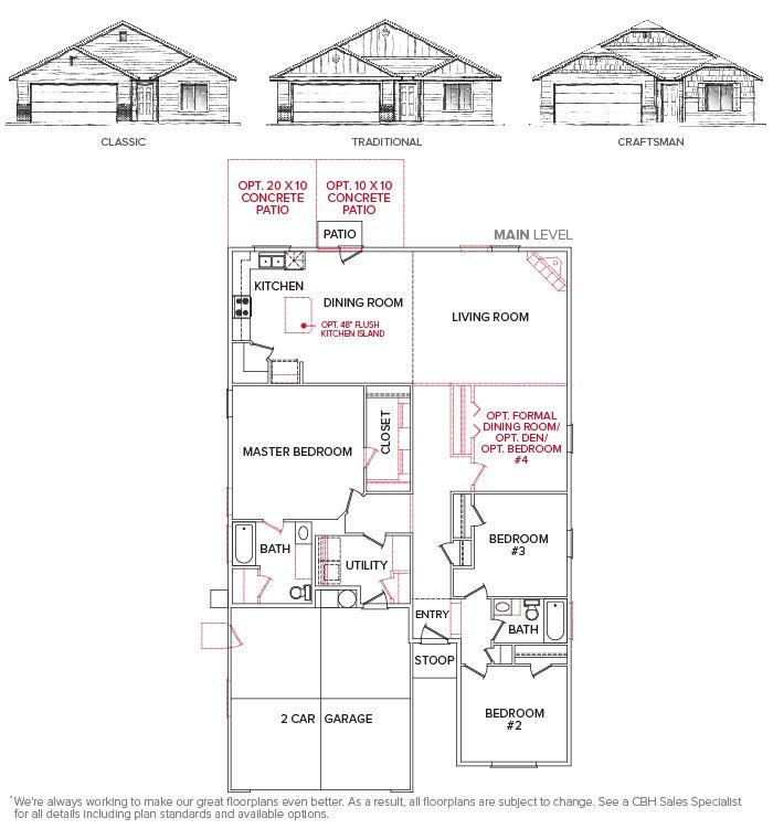 Westover 1845 Floor Plan Floor Plan Creations Cbh
