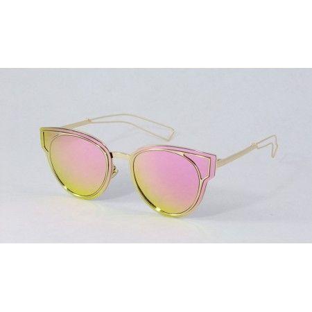 a19b7201030c7 Óculos de sol Rosa espelhado Feminino - verão 2017 2018