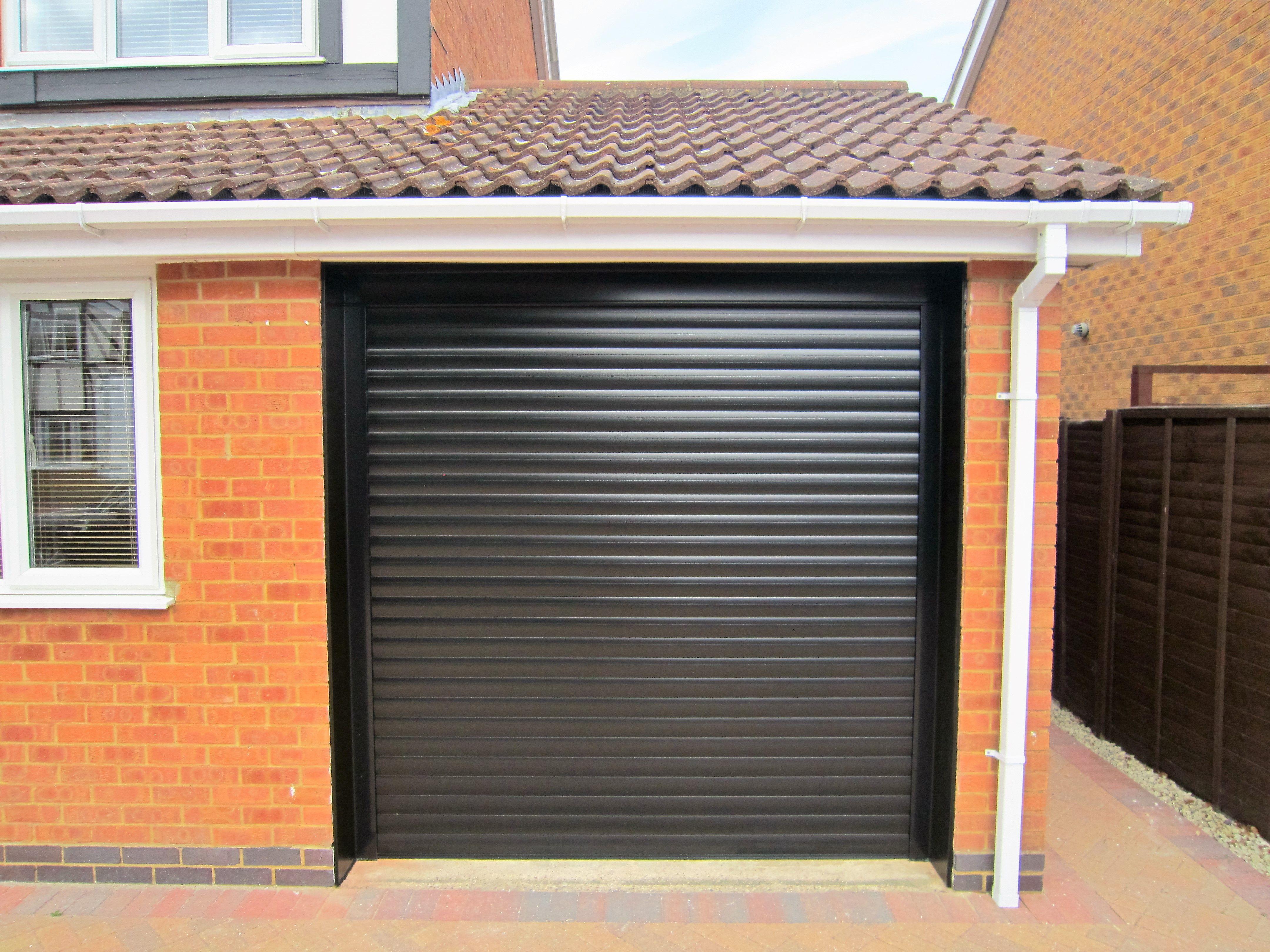 Alluguard Roller Door Black Roller Doors Sectional Garage Doors Garage Door Insulation