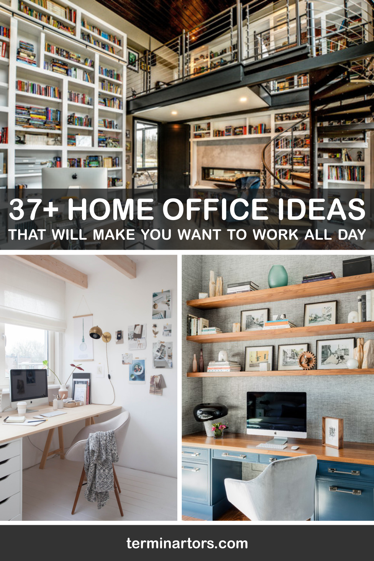 Working from home has become more than a trend here are 37 home office gorgeous ideas that will make you wanna work all day