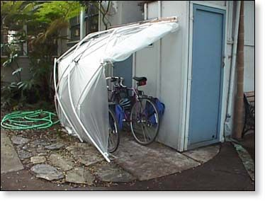 Affordable, Compact Bicycle Storage Shed