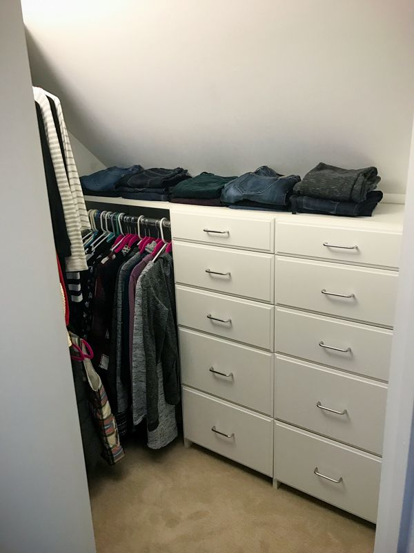 Home Neat Home: A Curated, Functional Wardrobe http://www.KathEats.com/home-neat-home-a-curated-functional-wardrobe #blackfriday #clothes