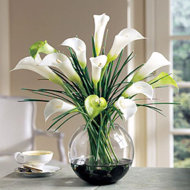 My favorite flowers: Calla Lilies