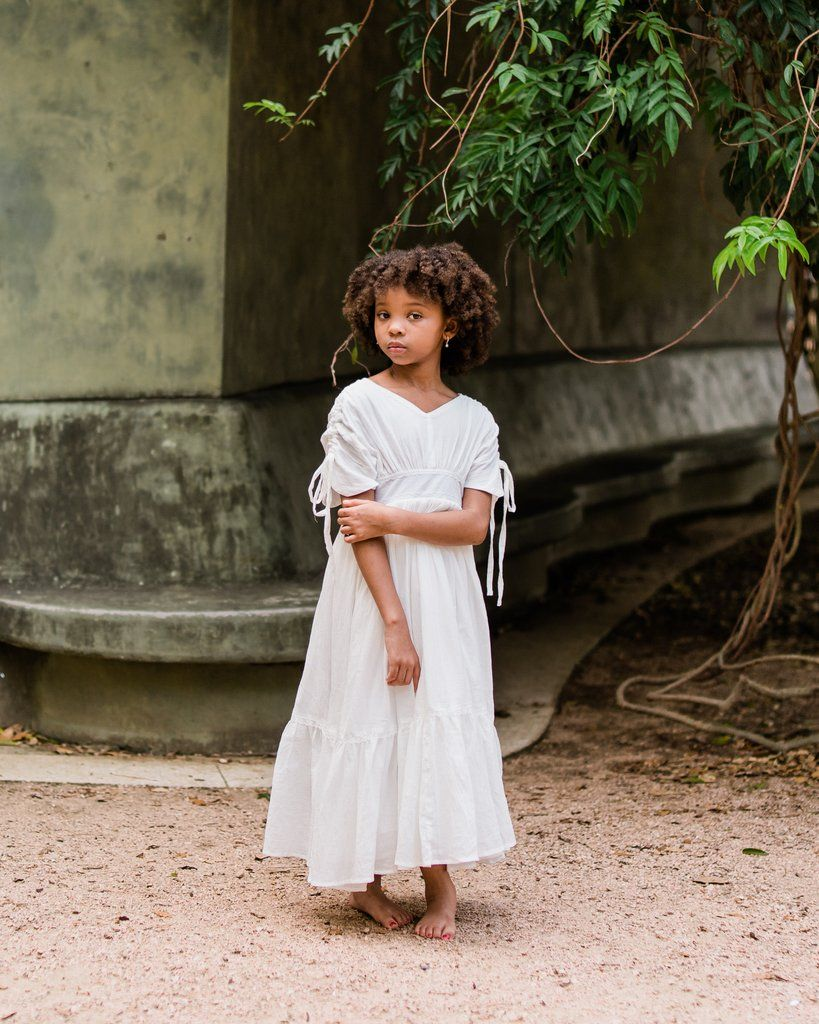 Gemma Maxi Dress In White By Belle And Kai Spring Fashion Spring Dress Floral White Flower Girl Dresses Flower Girl Dresses Boho Flower Girl Maxi Dress [ 1024 x 819 Pixel ]