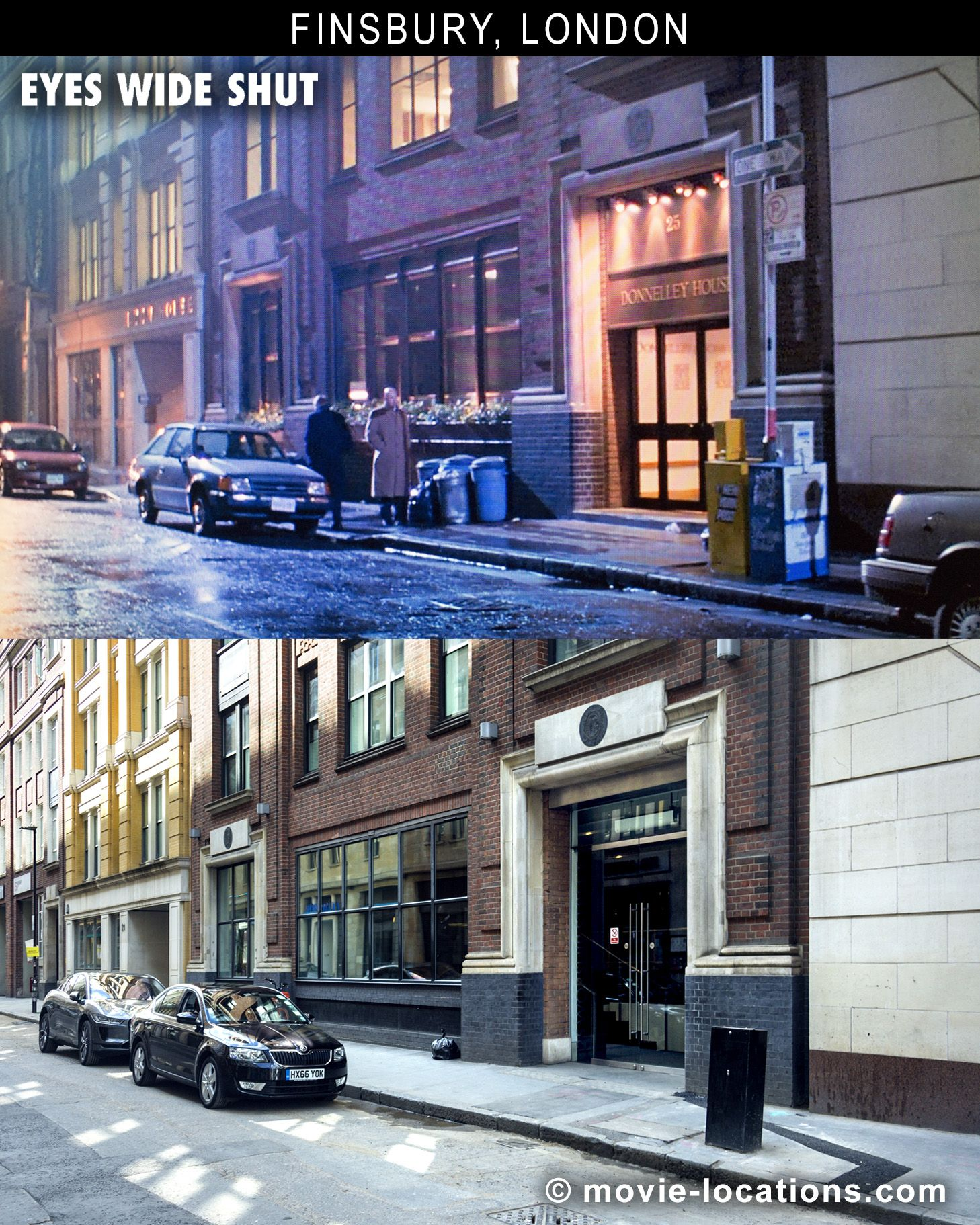 Filming Locations for Stanley Kubrick's final film, Eyes