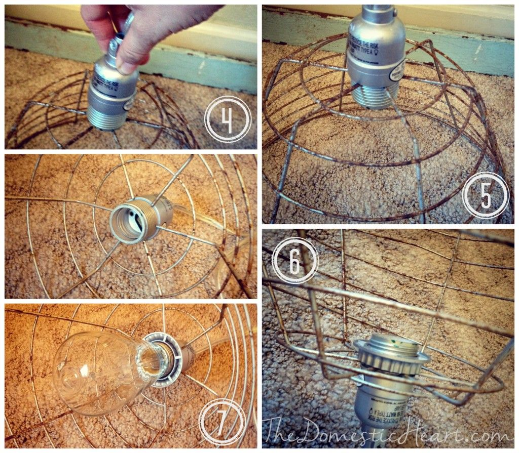 5 Minute DIY VIntage Industrial Pendant Light Tutorial