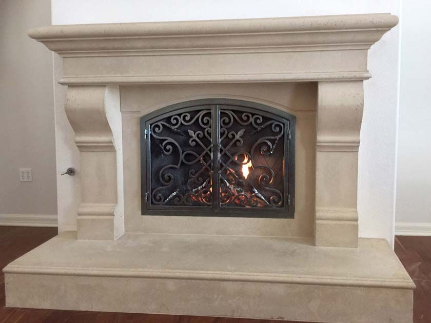 Fireplace Mantel Picture Fireplace Surrounds Fireplace Doors